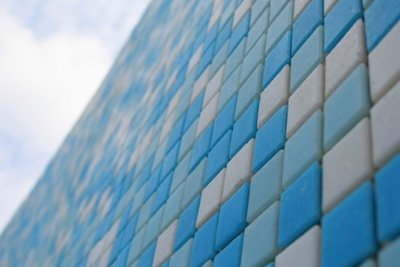 Mosaikfliesen haben das Zeug zum Kunstwerk.
