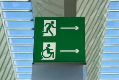 Schwerbehinderte werden steuerlich entlastet.