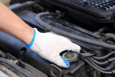 Kompressoren werden z. B. in Autos verwendet.