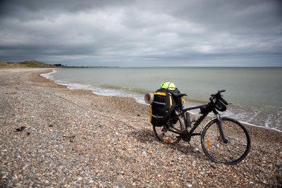 Bei Radreisen sind Fahrradtaschen unerlässlich.