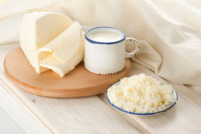 Produkte aus Ziegenmilch sind lecker und gesund.