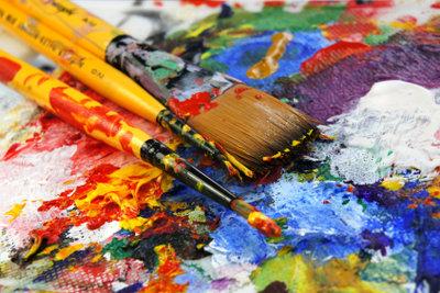 Tolle Idee für Hobbykünstler: Kopieren Sie ein berümtes Werk für den Hausgebrauch.