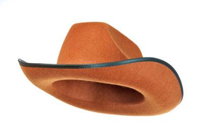 Auch Cowboyhüte dürfen bei der Party nicht fehlen.
