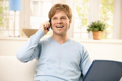 Nach dem Freischalten können Sie telefonieren.