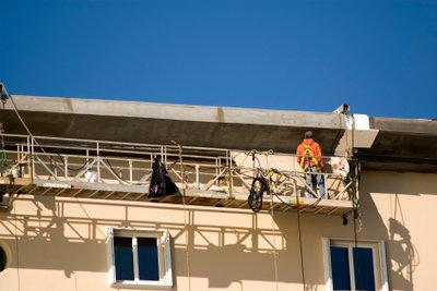 Eine Fassadendämmung ist wichtig.