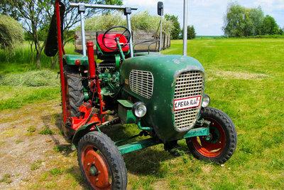 Alte Traktoren sind längst nicht langweilig.