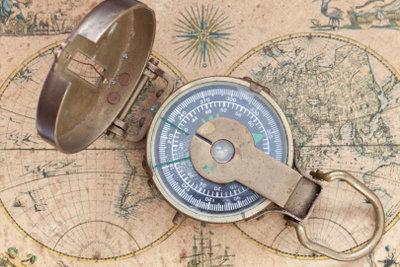 Den Kompass werden Sie brauchen, um dem Breitengrad folgen zu können.