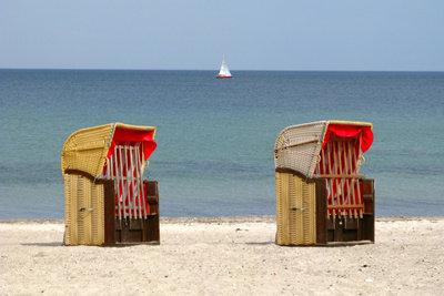 Achten Sie auf die richtige Aufbewahrung Ihres Strandkorbs.