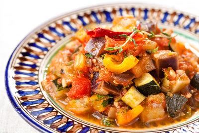 Ratatouille ist bei einer Low-Carb-Diät geeignet.
