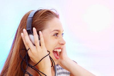 Auch Teenager können Ihre Lieblingsmusik bei iTunes kaufen.