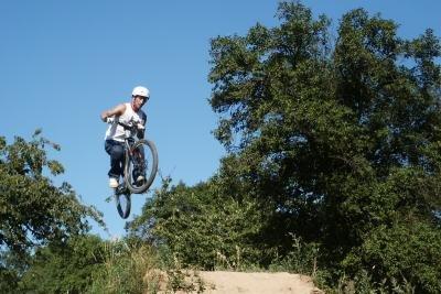 BMX-Fahrten sind bei Sportlern sehr beliebt.