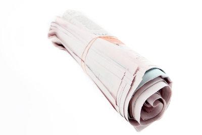Zeitungsartikel sind immer nach einem speziellen Muster aufgebaut.