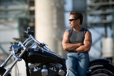 Eine Harley gilt als Statussymbol in der Bikerszene.