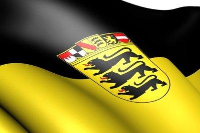 Das Staufer-Wappen ist Bestandteil des Landeswappens von Baden-Württemberg.