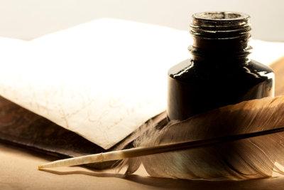 Orientieren Sie sich an den formalen Merkmalen der Textvorlage.