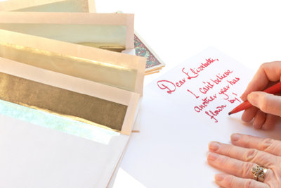 Schreiben Sie Ihre Geschäftsbriefe nach DIN 5008.