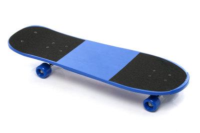 Skateboardfahren ist leichter.