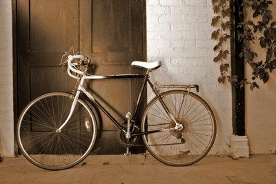 Einen Fahrradrahmen kann man auch selber entwerfen.