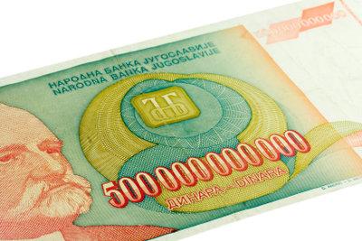 Slawisches Geld hat viele Nullen aber nur wenige Vokale.