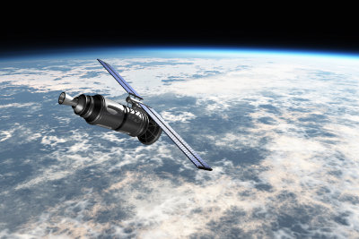 Über Satellit empfangen Sie viele Sender.