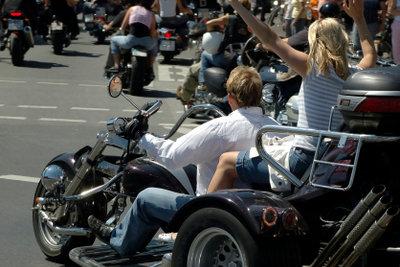 Trikes sind das ideale Fahrzeug für Motorradliebhaber.