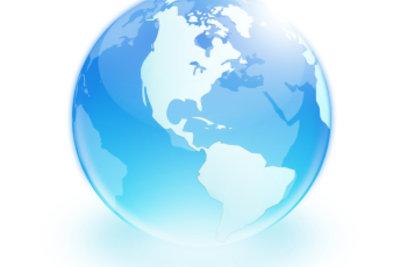 Jeder Punkt auf der Erde hat eine genaue Koordinatenangabe.
