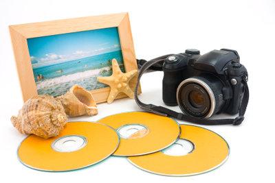 CDs eignen sich ideal zum Basteln.