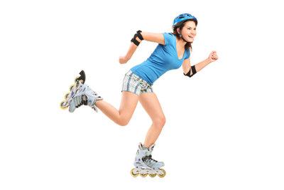 Inliner mit großen Rollen sind ideal für Langstreckenläufer und Ausdauersportler.