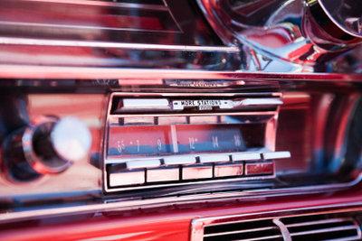 Ältere Autoradios benötigen keine Codeeingabe.