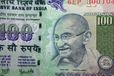 Noch immer wird Gandhi als großer Befreier und Redner gefeiert.