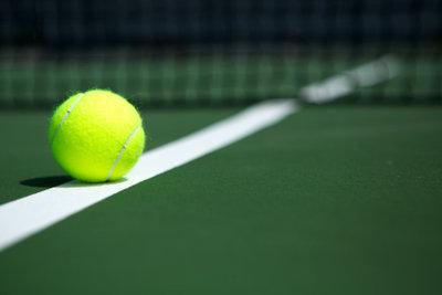 Tennis als beliebte Ballsportart.