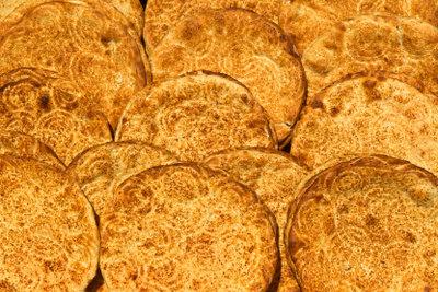 Fladenbrot ist ein wichtiger Bestandteil der afghanischen Küche.