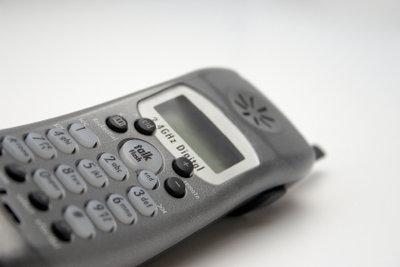 Schnurlostelefon - bequemes Telefonieren ohne Kabel.