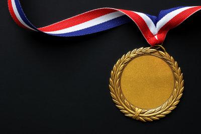 Auch die Olympia-Goldmedaillen werden immer nur vergoldet.