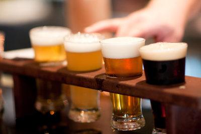 Es gibt viele Sorten amerikanisches Bier.
