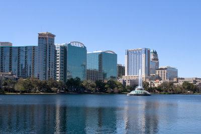 Lake Eola bei Orlando