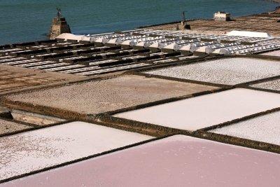 Meersalzsaline - Salz ohne Rieselhilfe
