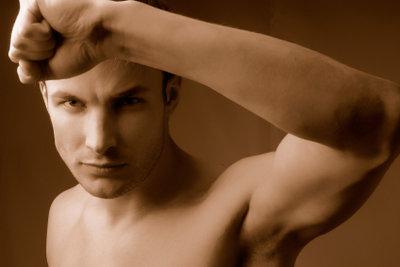 Starke Armmuskeln - ein Ziel vieler Fitnessbegeisterten.