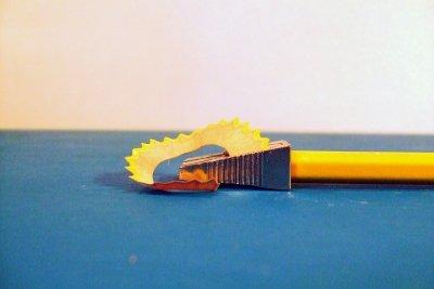 Früher wurde noch mit Bleistift gezeichnet.