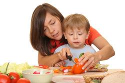 Gemüse gehört zu einem gesunden Frühstück.