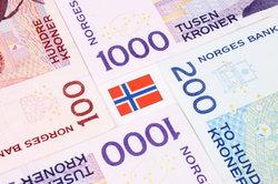 Norwegische Kronen gelten als sichere Anlagewährung.