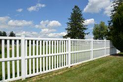 Ein guter Zaun benötigt ein Fundament.
