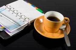 Kaffee genießen mit selbst hergestellten Kaffeepads.