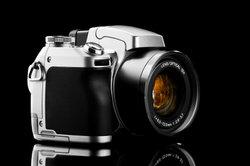 Die Minolta Dynax ist eine Spiegelreflexkamera aus analogen Zeiten.