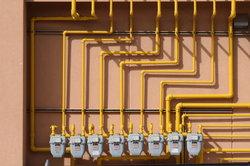 Der Gasverbrauch wird in kWh angezeigt und für die Abrechung in m3 umgerechnet.