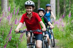 Eine ausgedehnte Radtour ist etwas für die ganze Familie.