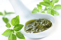 Basilikum ist eine beliebte Küchenpflanze.