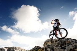 Beim Mountainbike auf Sicherheit achten