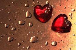 Hören Sie in der Liebe einfach auf Ihr Herz.