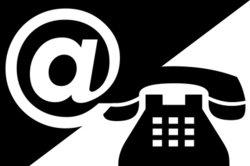 Das Telefonsymbol versteckt sich in einer Schriftart.